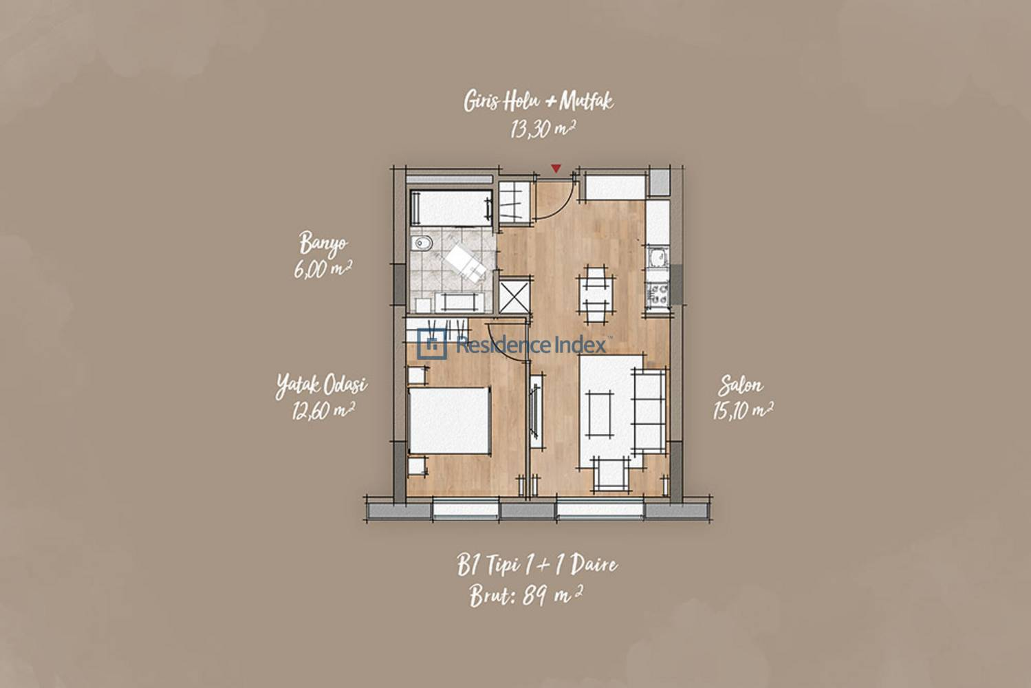 Antwell Life Care Residence  B1 Tipi