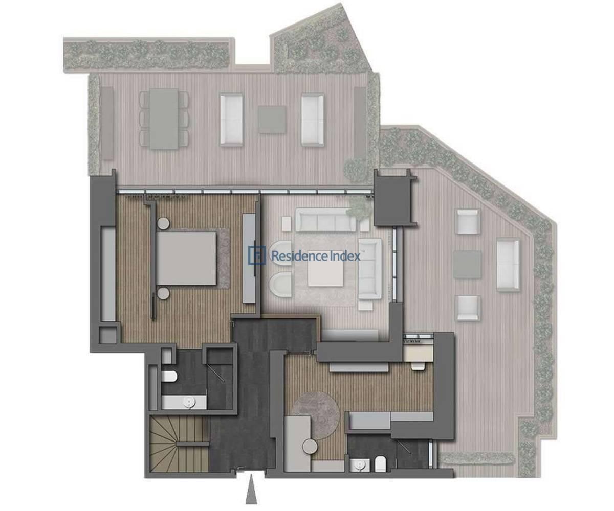 The Ritz Carlton Residences Nişantaşı 3+1 Dubleks Üst Kat