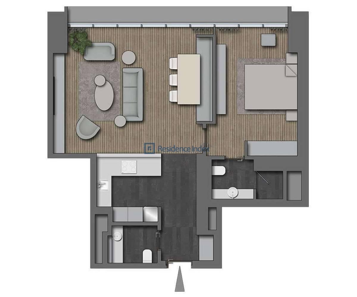 The Ritz Carlton Residences Nişantaşı 1+1