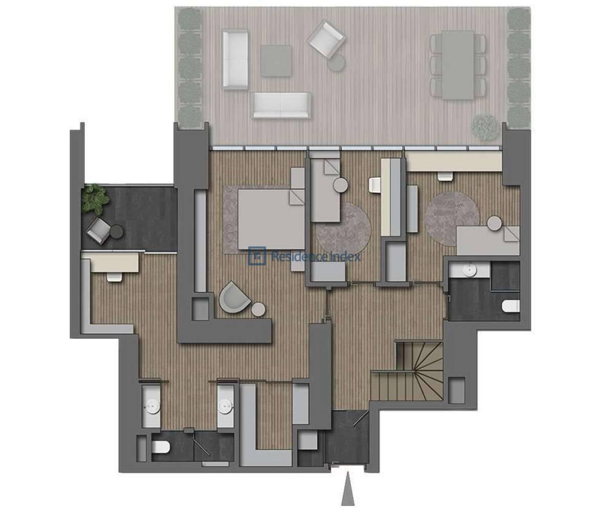 The Ritz Carlton Residences Nişantaşı 4+1 Dubleks Üst Kat