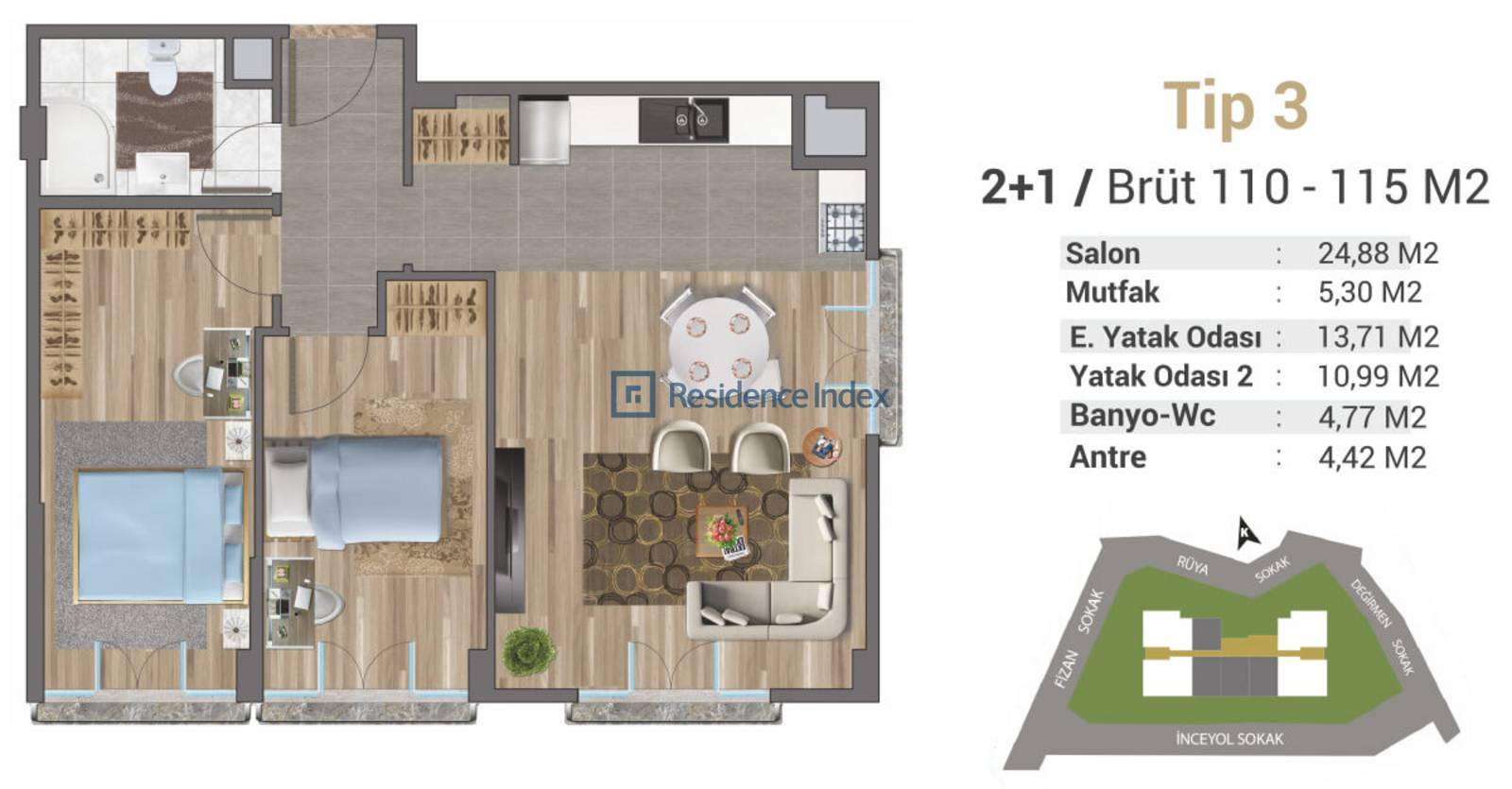 Solo Levent Tip 3