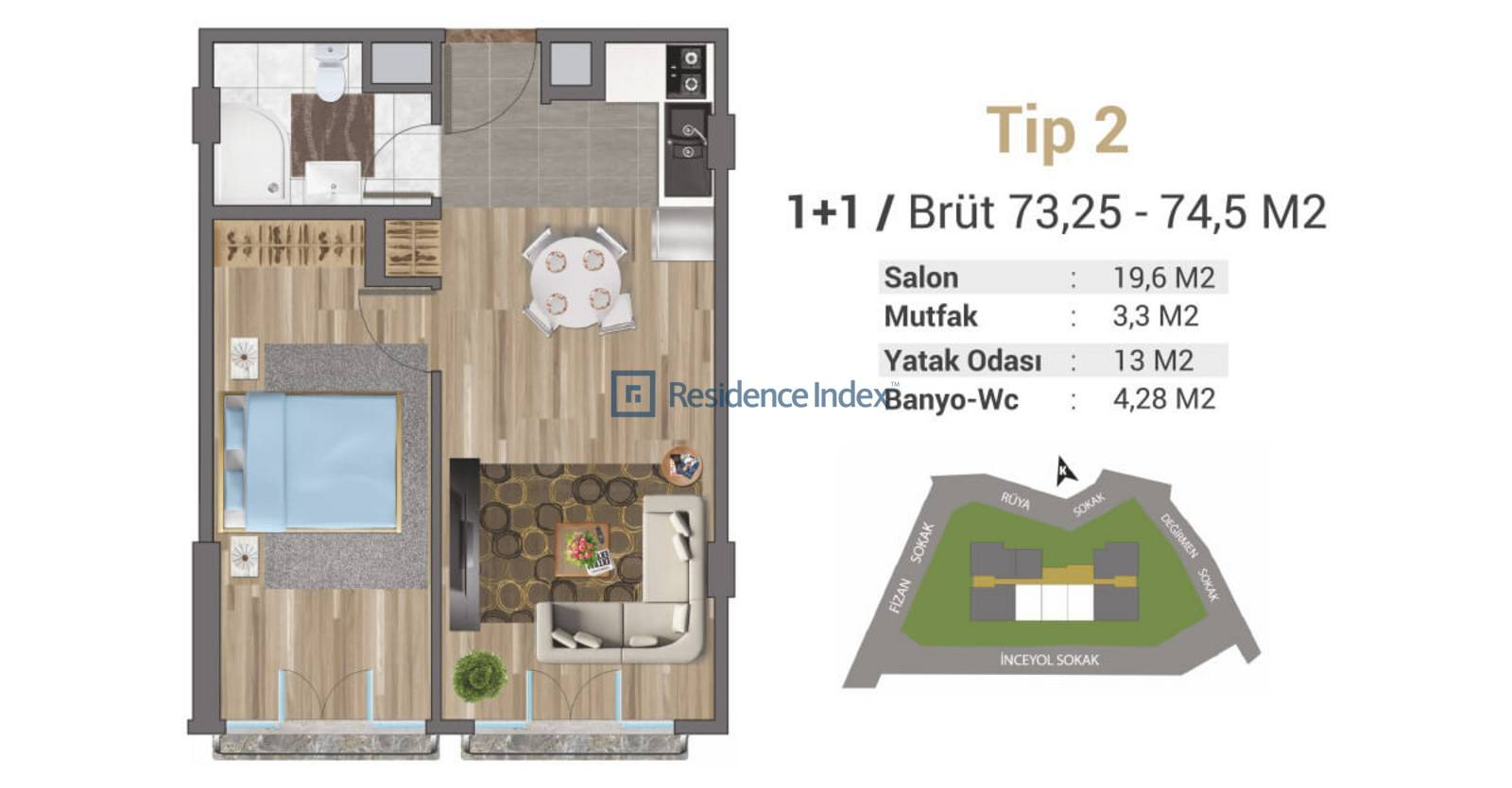 Solo Levent Tip 2