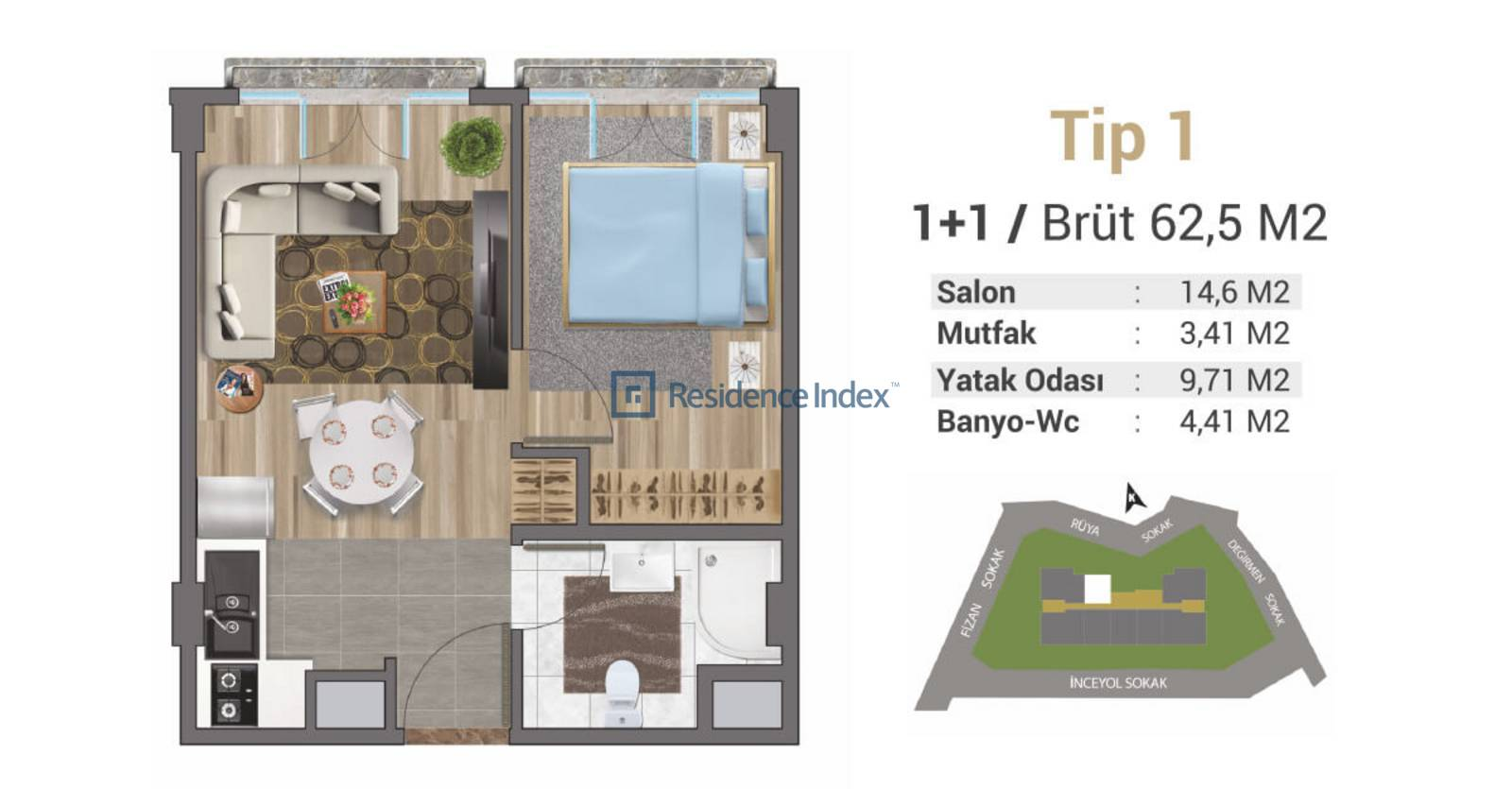 Solo Levent Tip 1