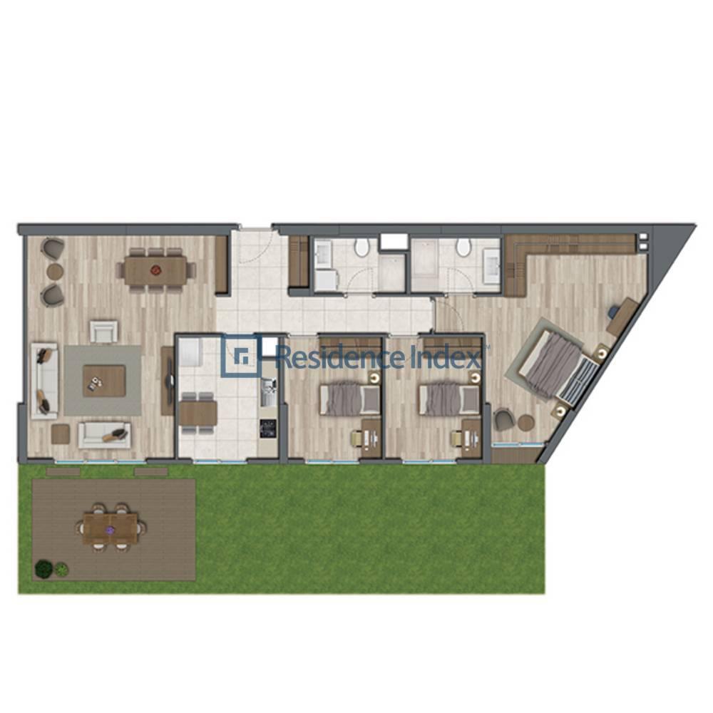 Sur Yapı Topkapı Evleri  E-Bahçe