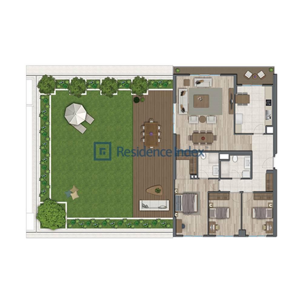 Sur Yapı Topkapı Evleri  A2-Teras F Blok