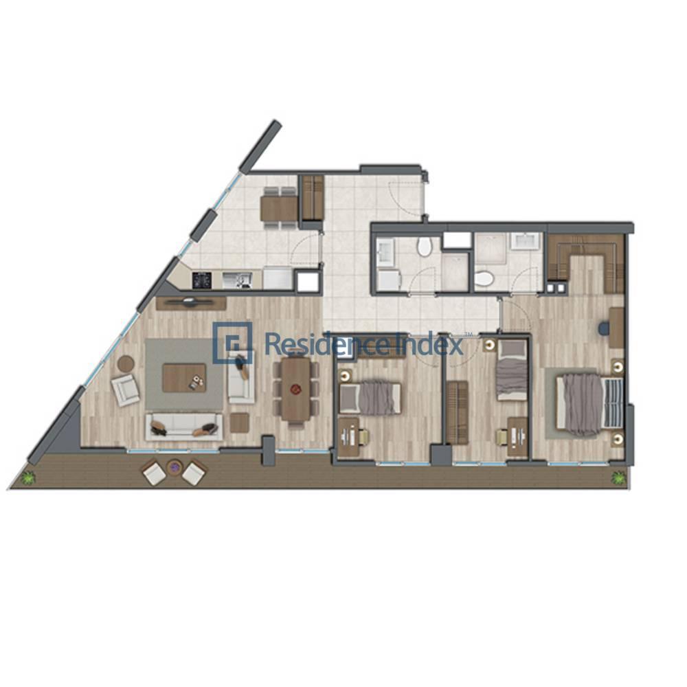 Sur Yapı Topkapı Evleri  D2