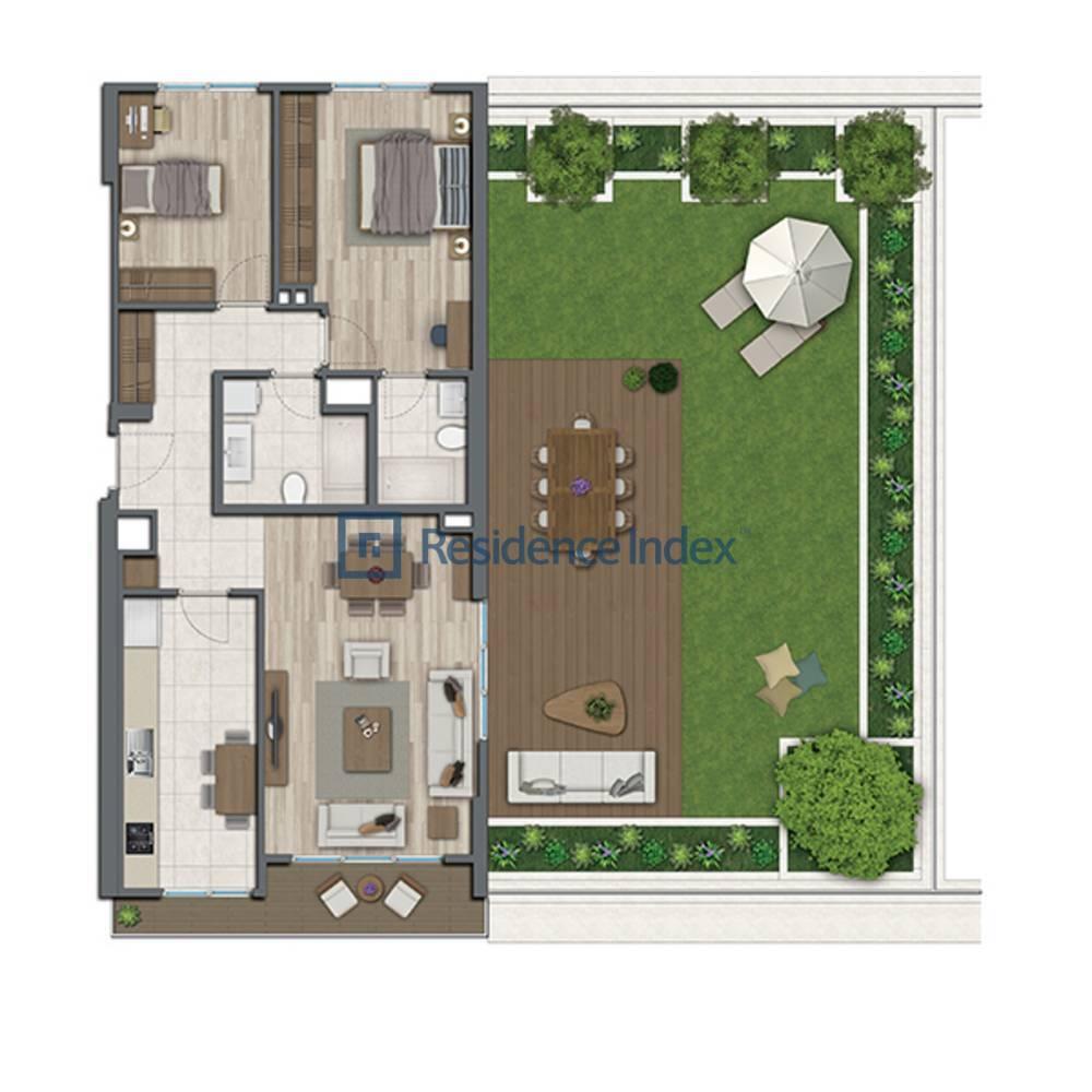 Sur Yapı Topkapı Evleri  A2-Teras-2