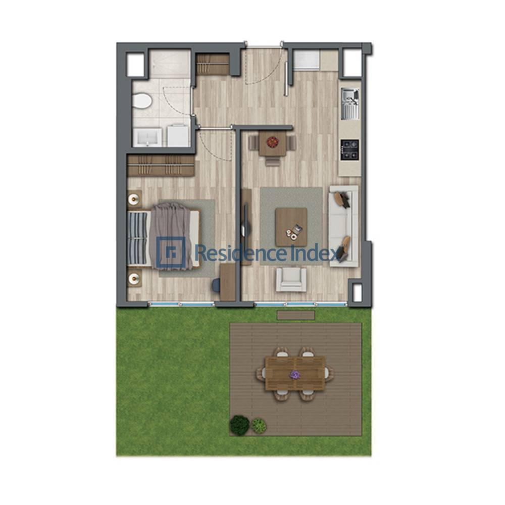 Sur Yapı Topkapı Evleri  Bahçe