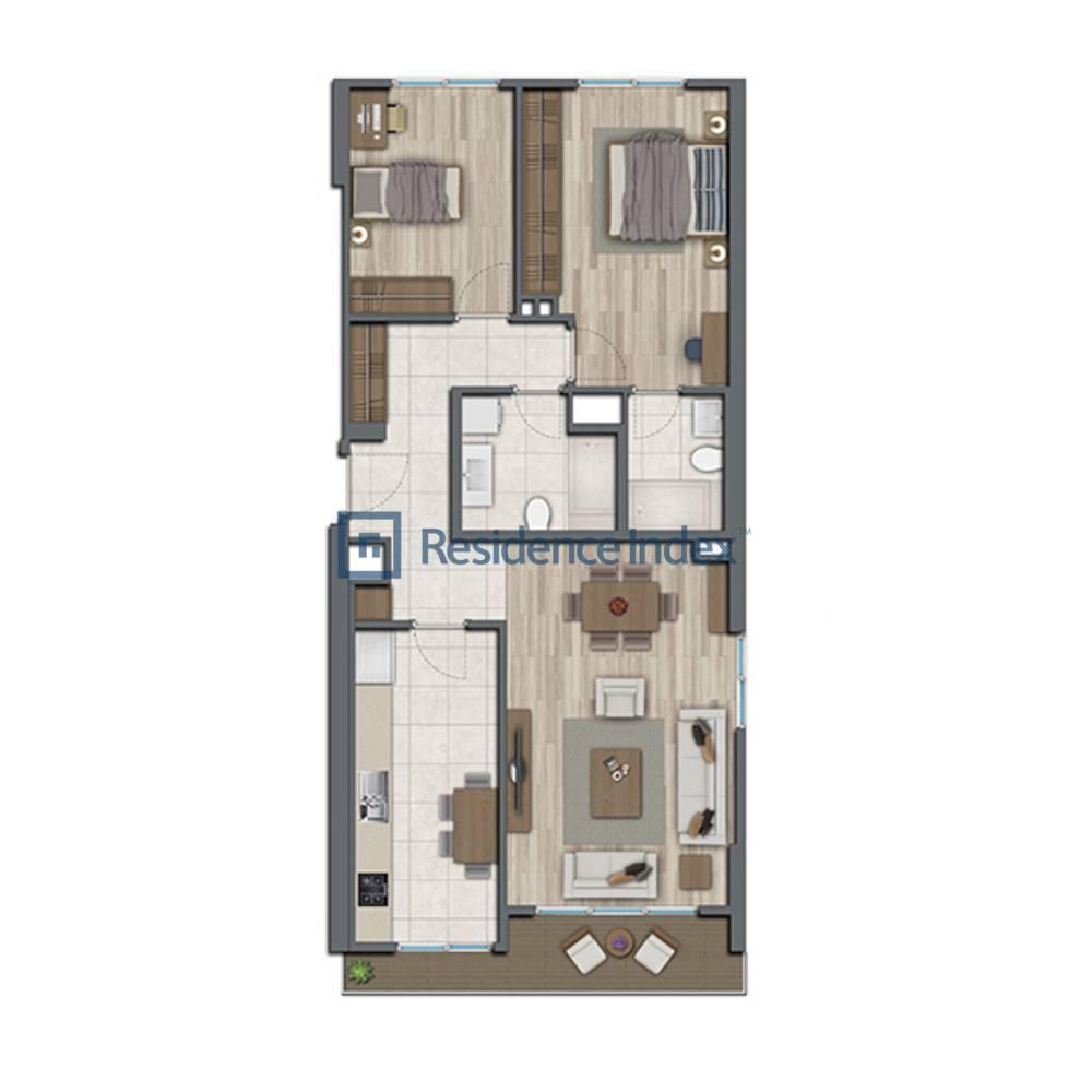 Sur Yapı Topkapı Evleri  A2