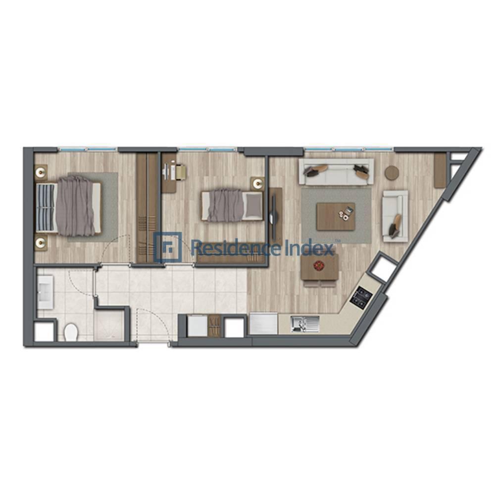 Sur Yapı Topkapı Evleri  E