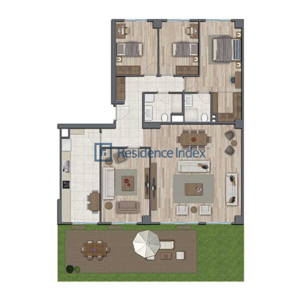 Sur Yapı Topkapı Evleri  A-Bahçe