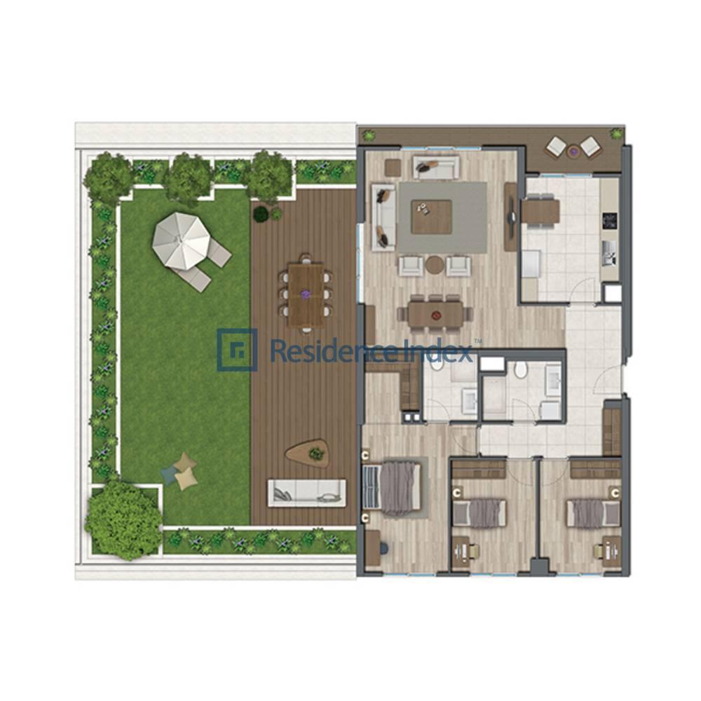 Sur Yapı Topkapı Evleri  A2-Teras G Blok