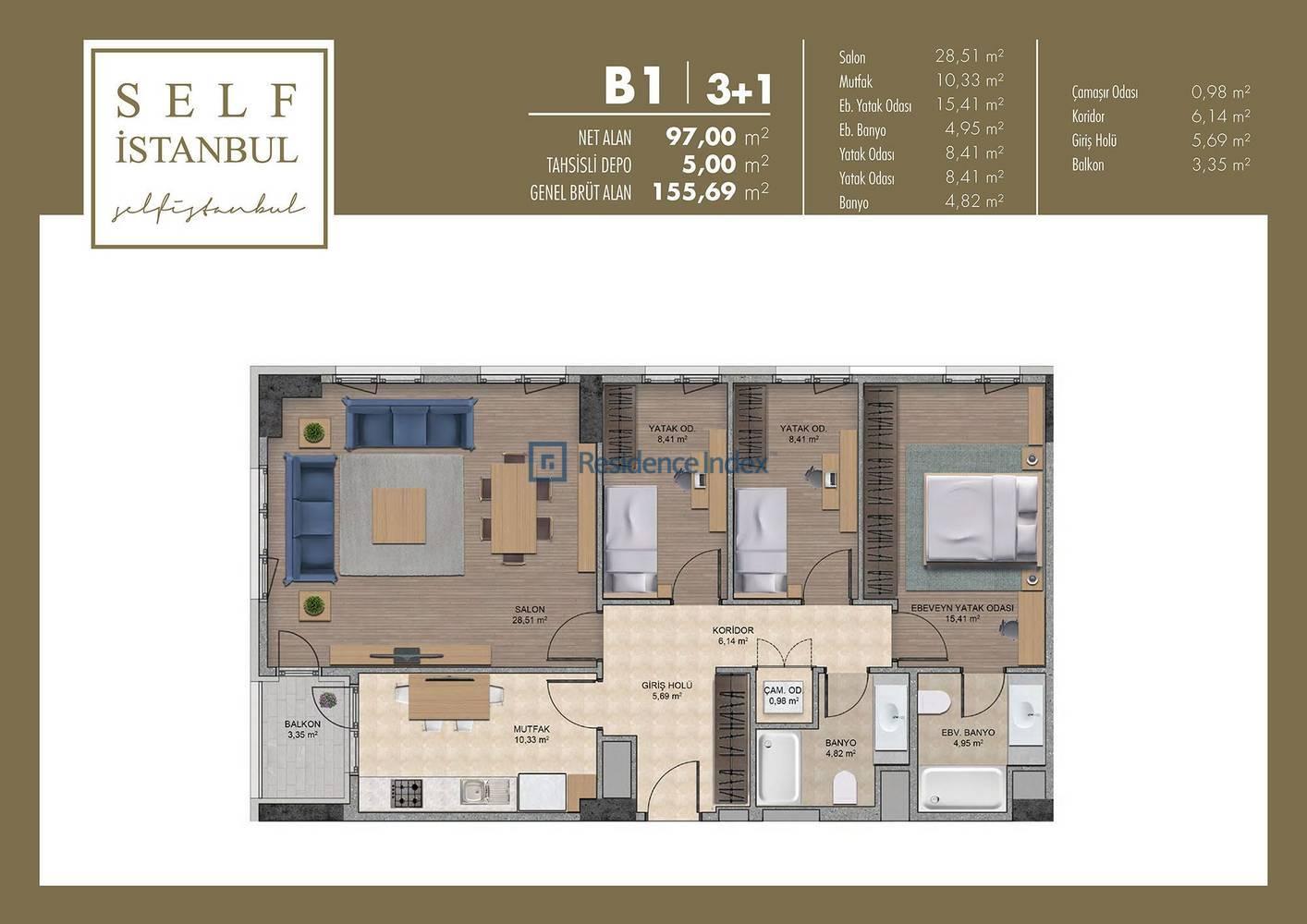 Self İstanbul  B1