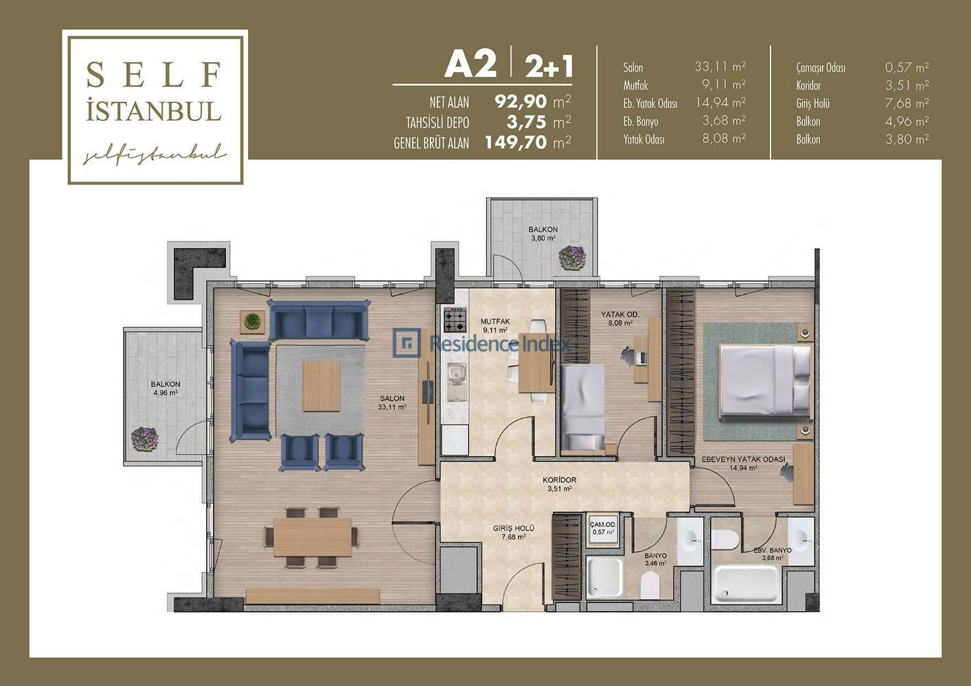 Self İstanbul  A2