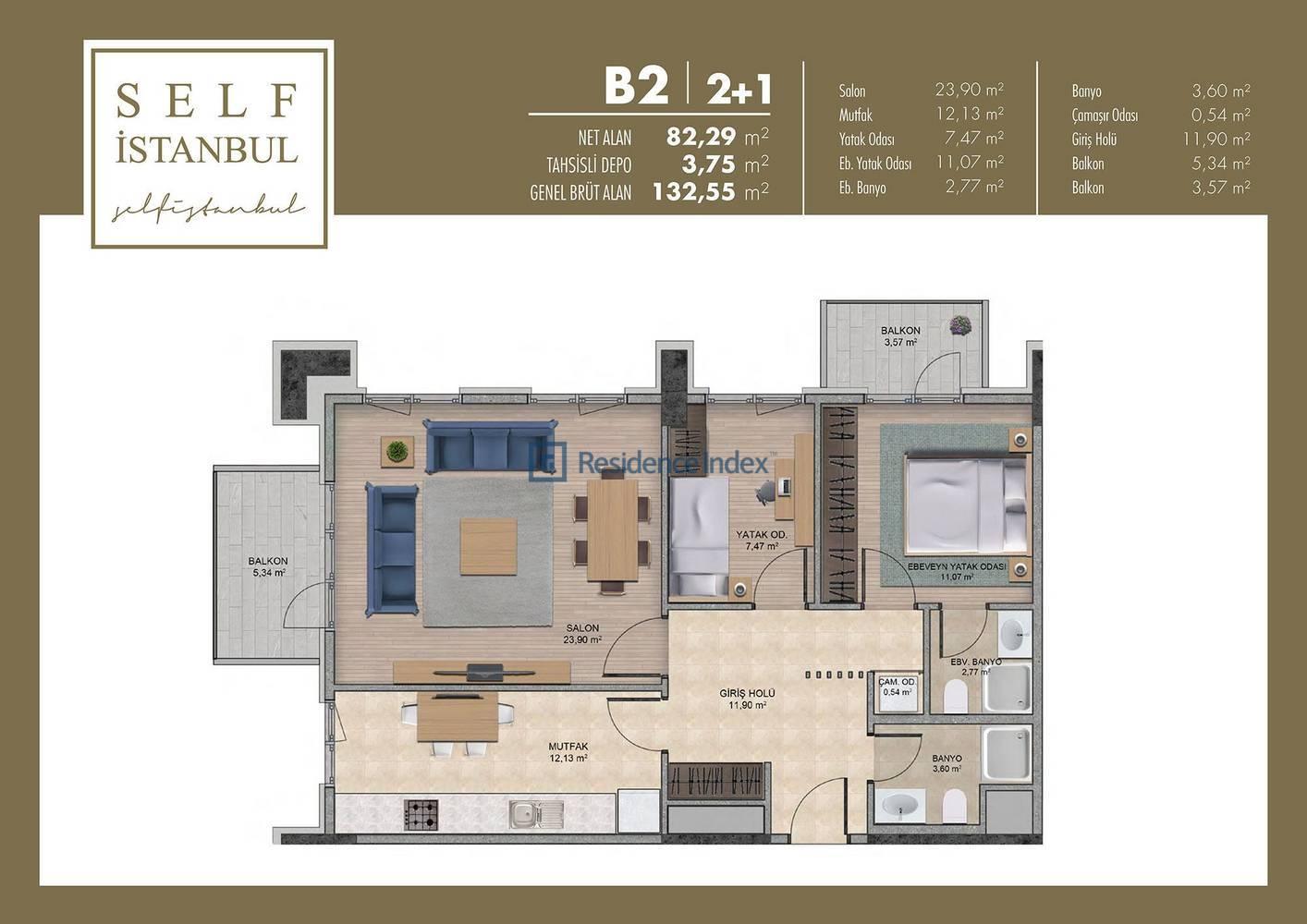 Self İstanbul  B2