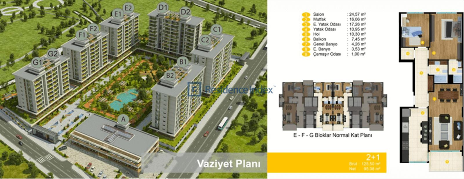 Mabeyn Marmara 2+1