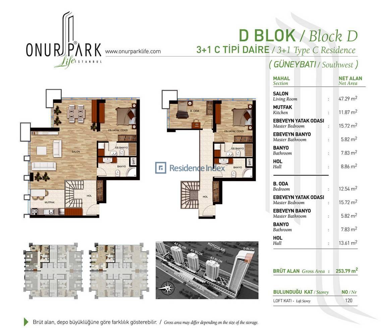 Onur Park Life D BL.C Tipi