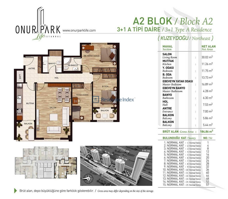 Onur Park Life A2 BL.A Tipi
