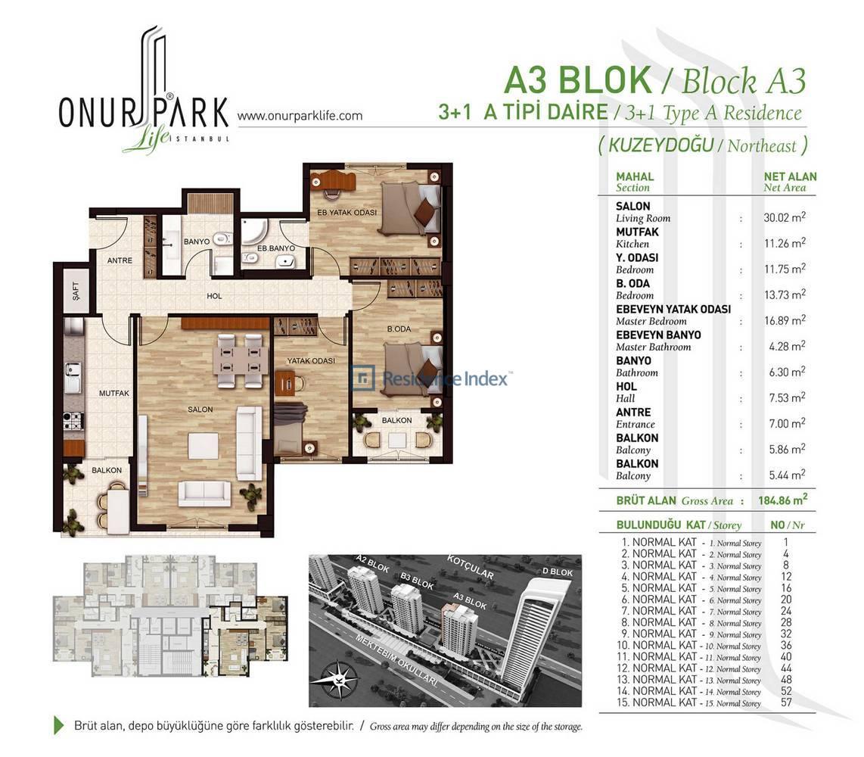 Onur Park Life A3 BL.ATipi