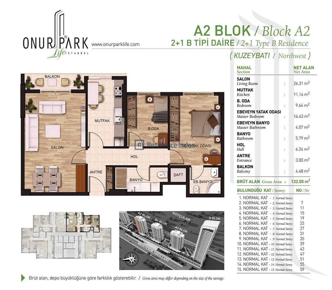 Onur Park Life A2 BL.B Tipi