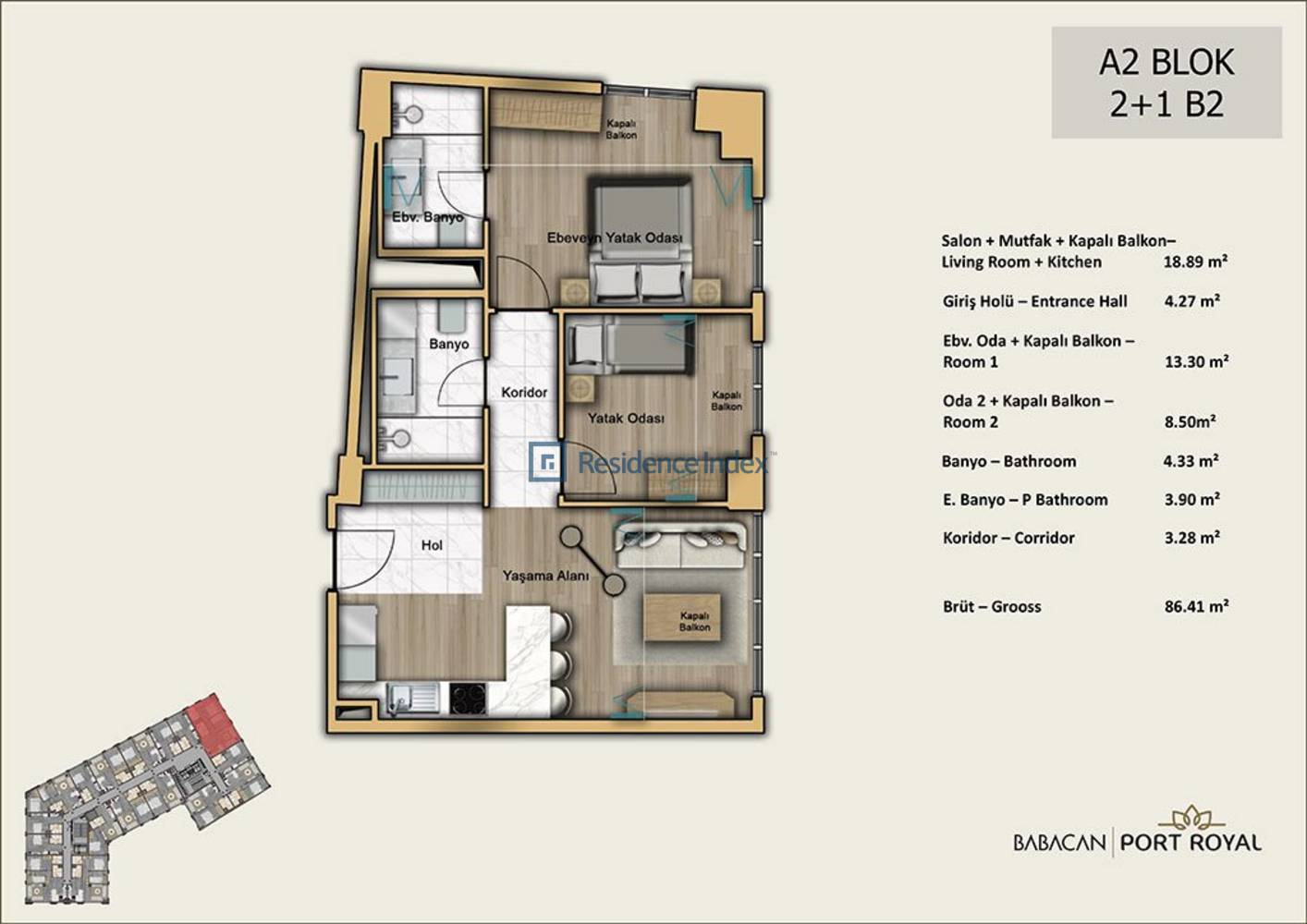 Babacan Port Royal A2-B2
