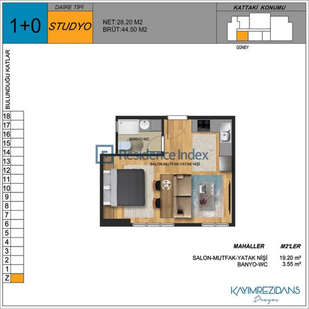 Kayım Rezidans Studio