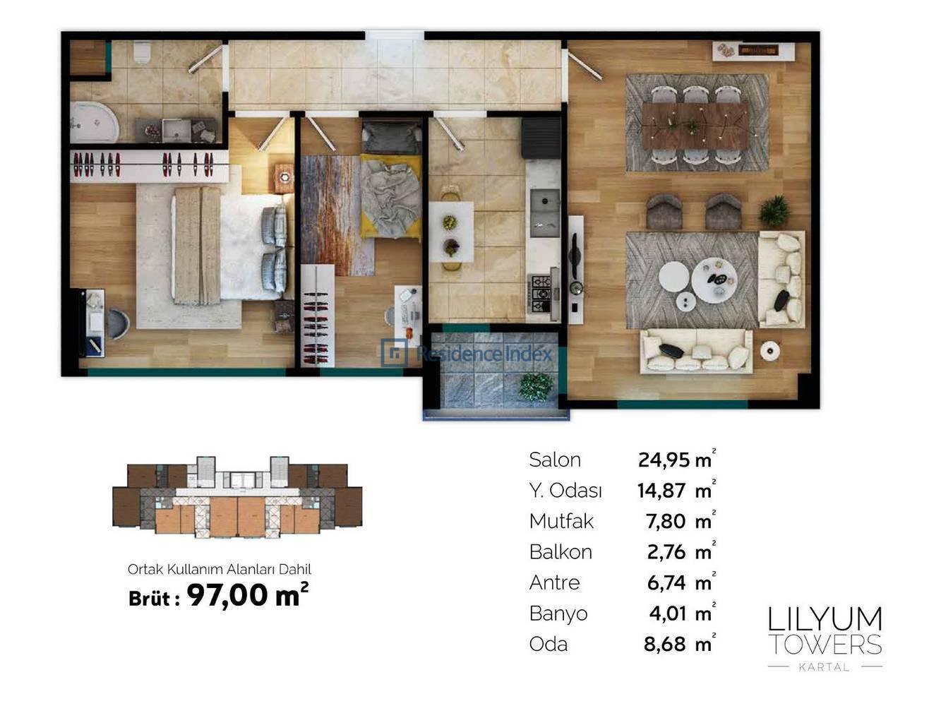 Lilyum Towers B