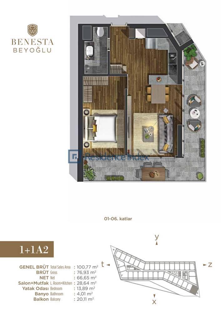 Benesta Beyoğlu A2