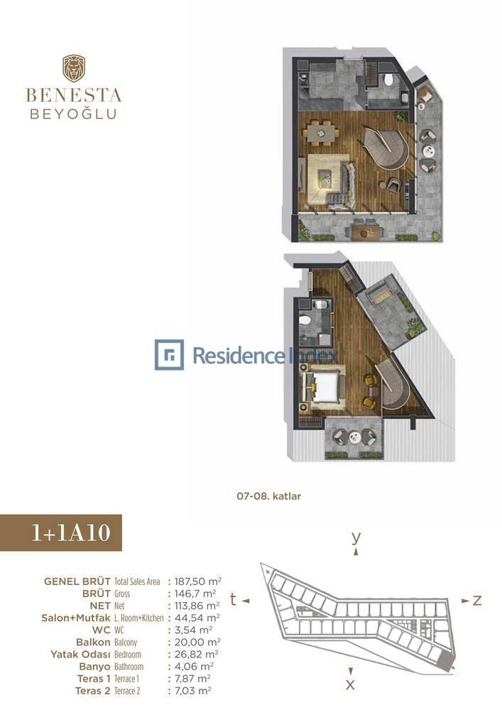 Benesta Beyoğlu A10