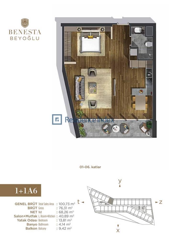 Benesta Beyoğlu A6