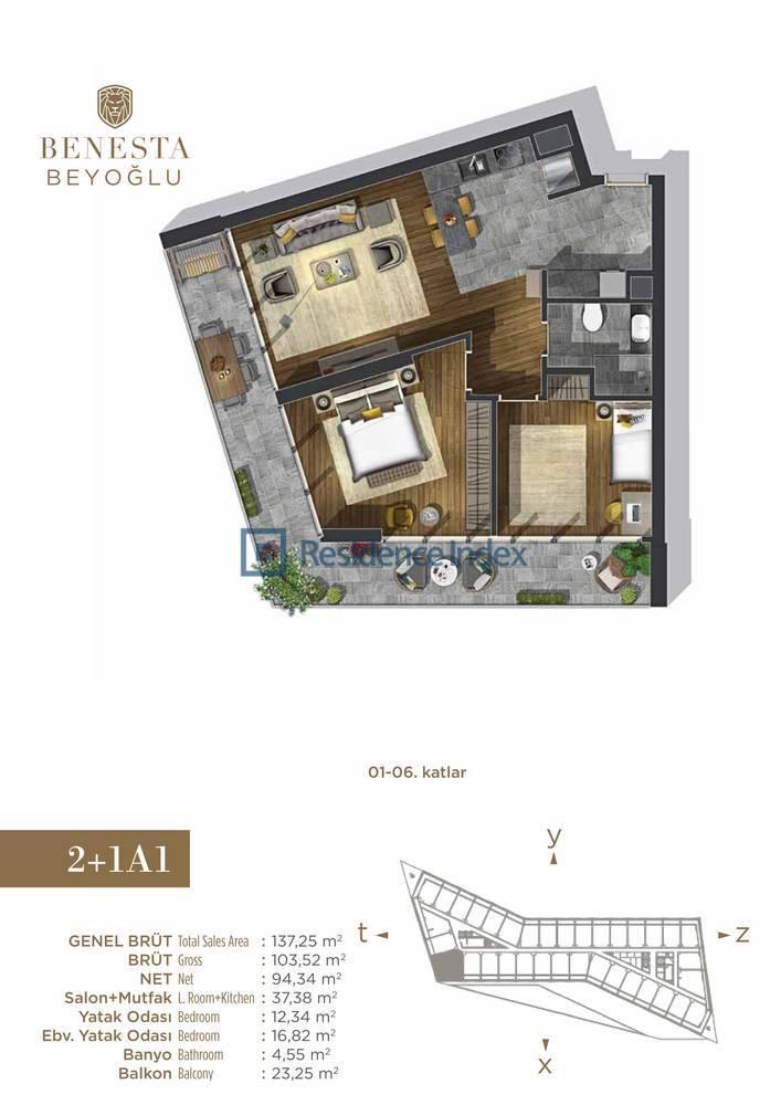 Benesta Beyoğlu A1