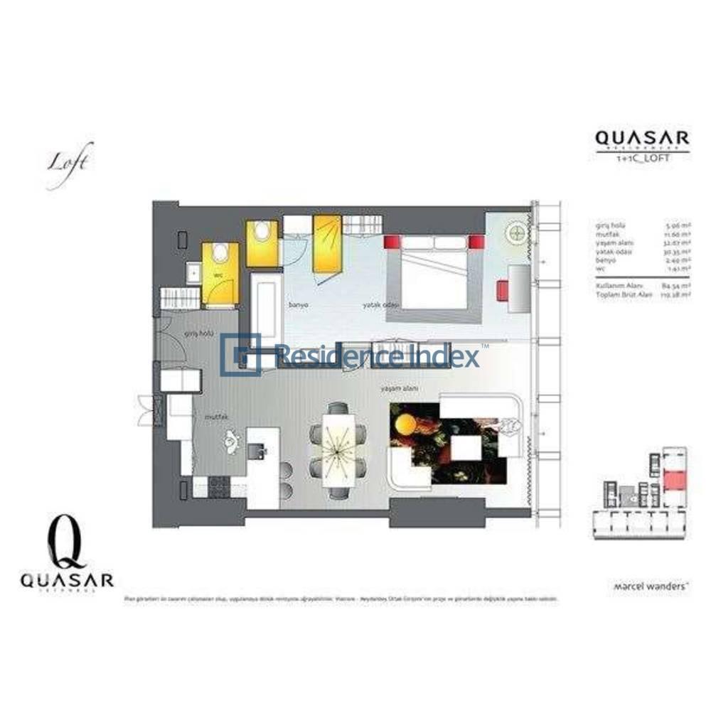 Quasar İstanbul C_Loft