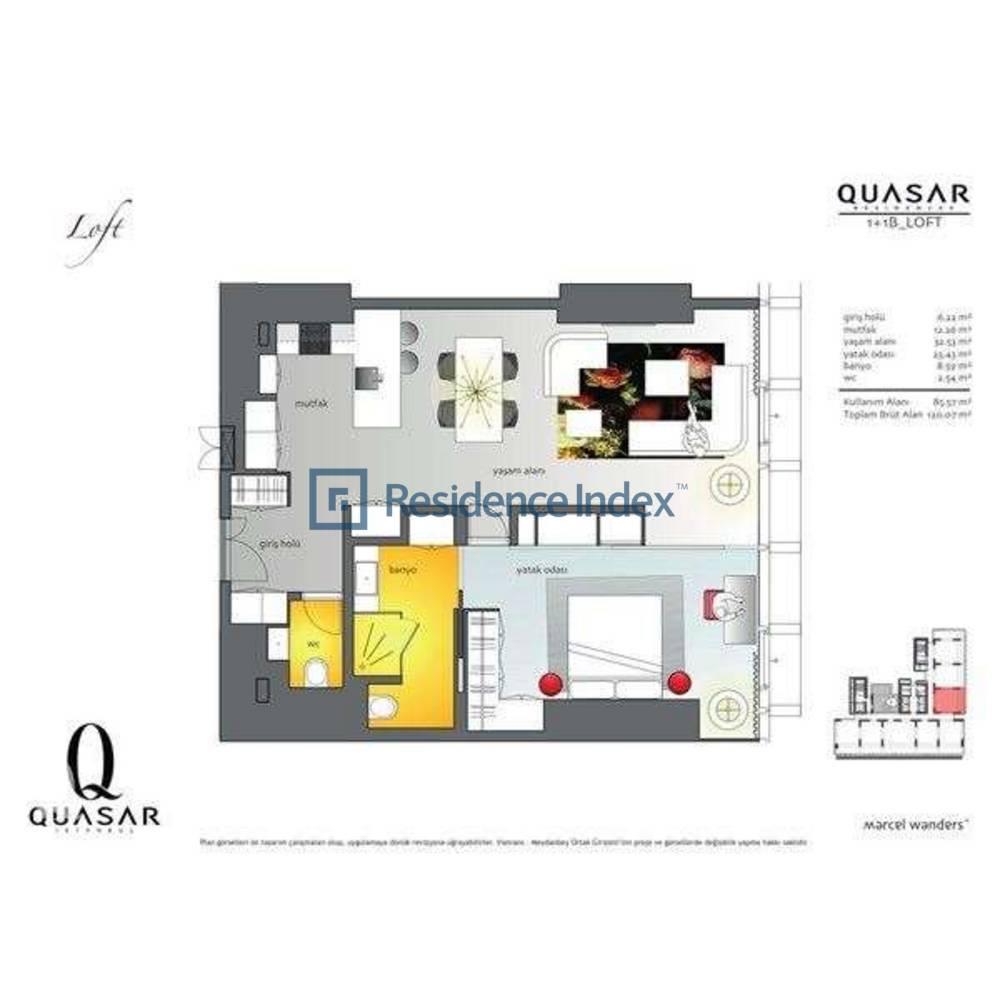 Quasar İstanbul B_Loft