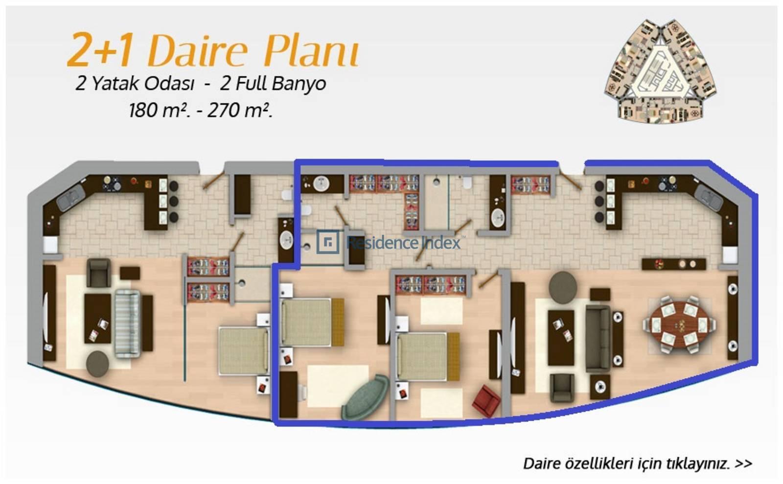 Bomonti Divan Residence Tip 2