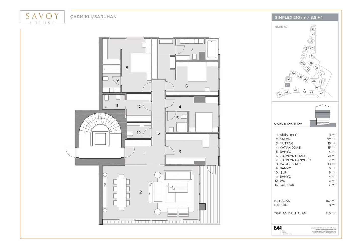 Savoy Residence S210
