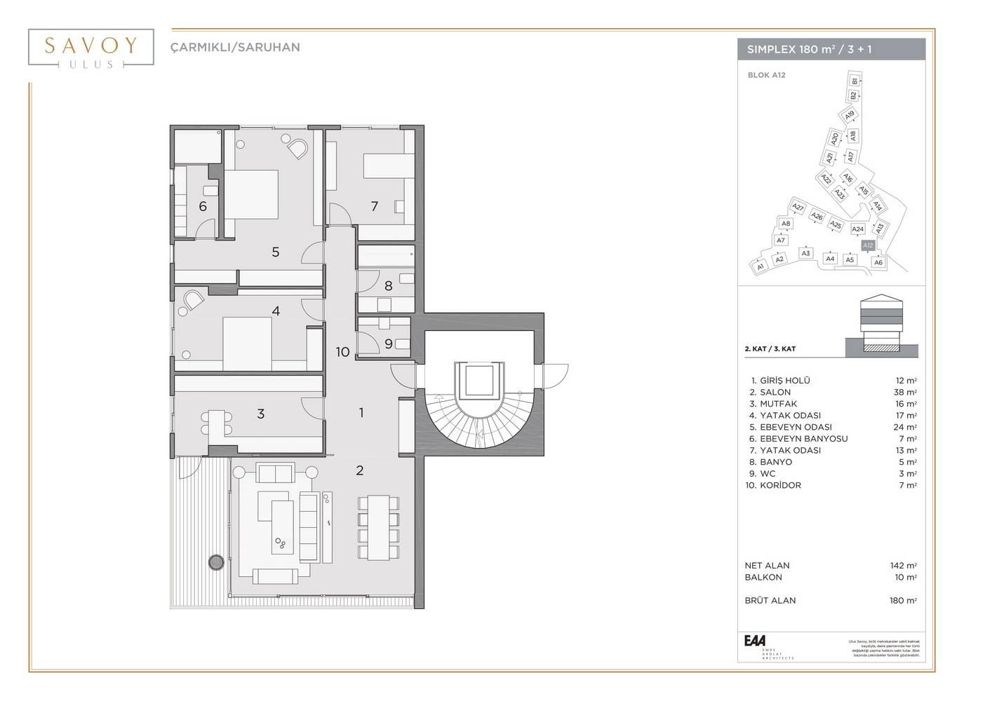 Savoy Residence S180