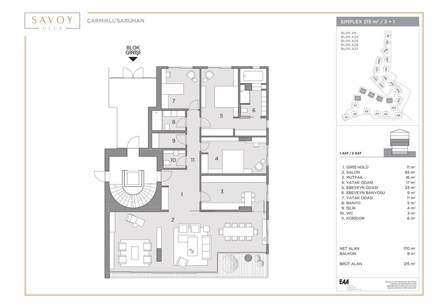 Savoy Residence S215