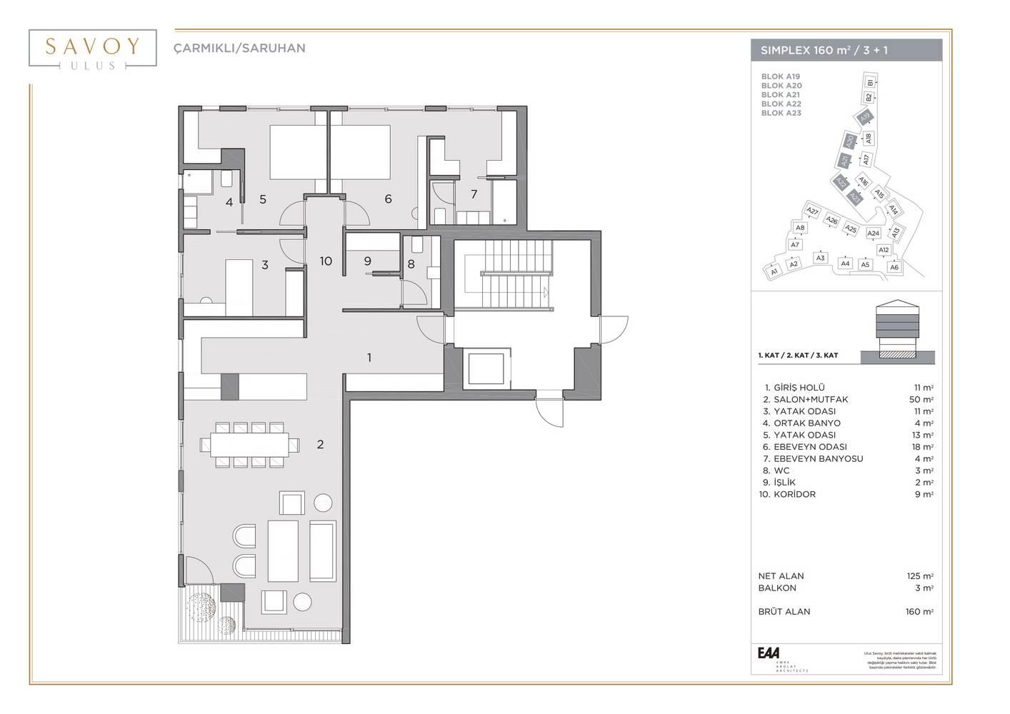 Savoy Residence S160