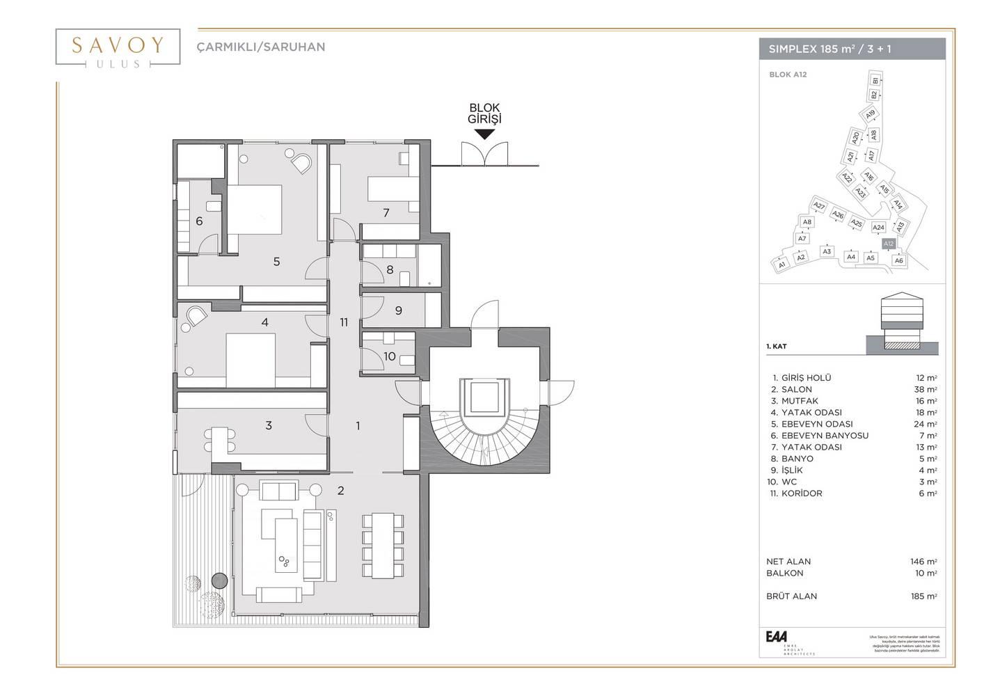 Savoy Residence S185