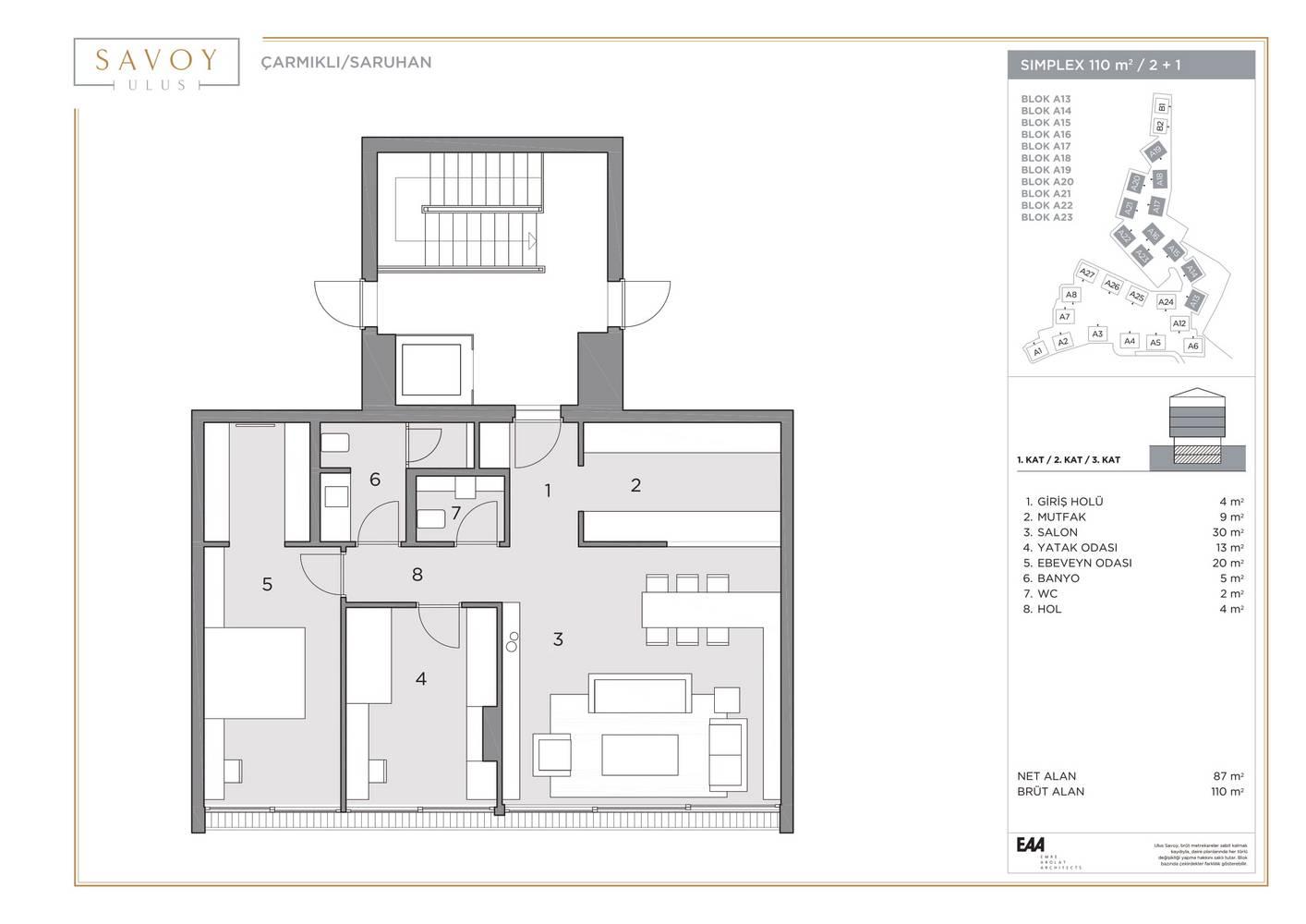 Savoy Residence S110